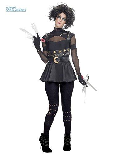 [Female Edward Scissorhands Costume - Small - Dress Size] (Miss Scissorhands Costume Makeup)