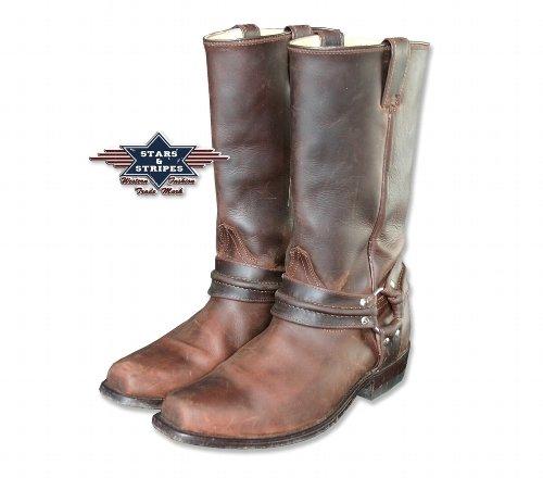 Bikerstiefel gratis Westernstiefel und STARS Boots Cowboy Shop mit Stiefelknecht 01 Herren Braun amp; Damen Edition Westernwear WB bzw amp; Cowboystiefel STRIPES Westernstiefel für RTzqaRr