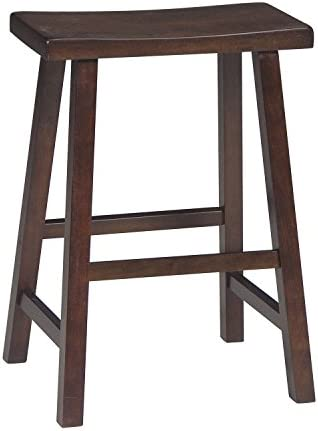 International Concepts Saddle Seat Barstool Walnut 24