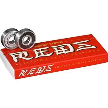 Bones Super Reds Bearings, 8 Pack set