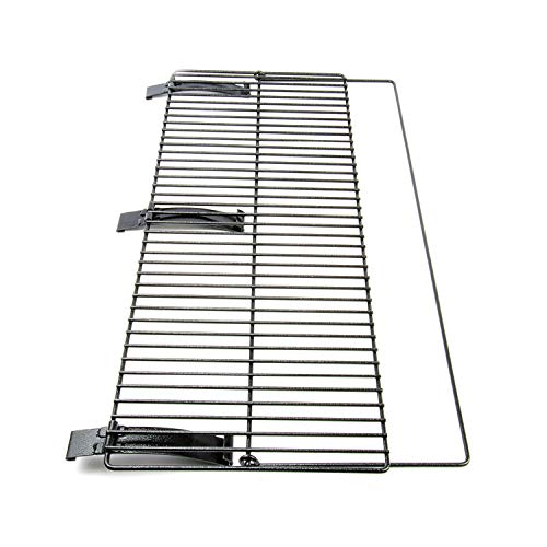 The Smoke Daddy Foldable Front Grill Shelf: 34inch x 12inch Powder Coat by Pellet Pro