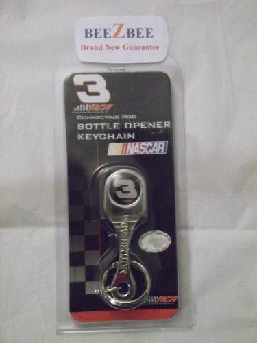Connecting Rod Bottle Opener Keychain - NASCAR #3 Connecting Rod Bottle Opener