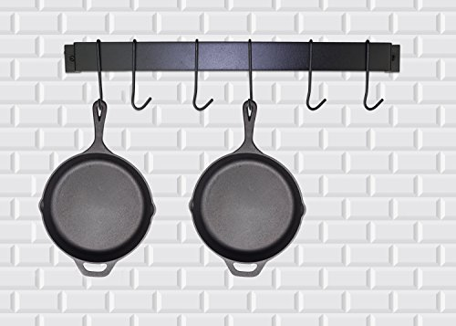 Pre-Seasoned Cast Iron Skillet – 12.5 Inch | Superb Heat Retention | Heavy Duty Nonstick Bakeware| Evenly Cooking | Nonstick Frying Pan | Rust Resistant | for Home Cooking & Commercial Kitchen by Homerware (Image #7)