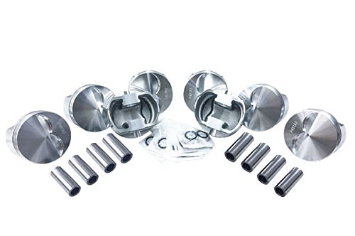 (5.7 Rod 4.030 bore 383 Stroker Engine Wiseco Flattop Forged Race Pistons set of 8)