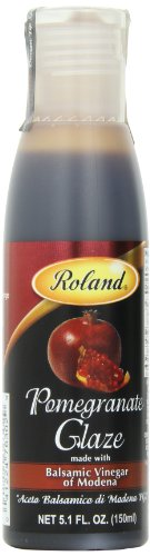 - Roland Foods Balsamic Glaze, Pomegranate, 5.1 Ounce (Pack of 3)