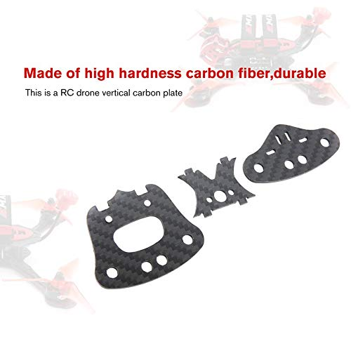 Wikiwand FPV Drone Accessories Vertical Carbon Plate for EMAX Buzz RC Car Drone Robot by Wikiwand (Image #4)