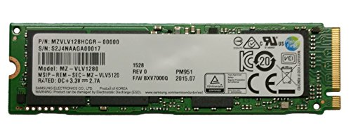 Samsung PM951 128GB M.2 NGFF PCIe Gen3 x4, NVME Solid state drive SSD, OEM (2280) ( MZVLV128HCGR-00000)