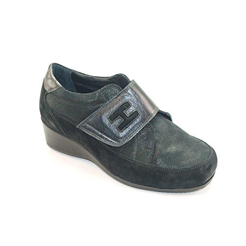 Hergos H 9000–Schuh komfortable und elegante Schwarz