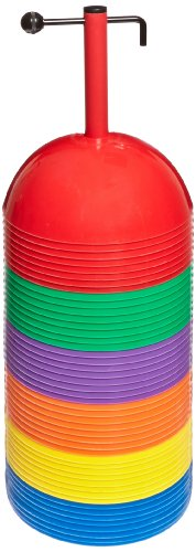 Sportime Dome Multi Markers Soft Dome - Set of 48 - Assorted Colors
