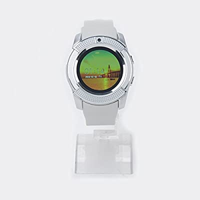 V8 Smart Watch Fitness Tracker SD Card SIM Card Smartwatch ...