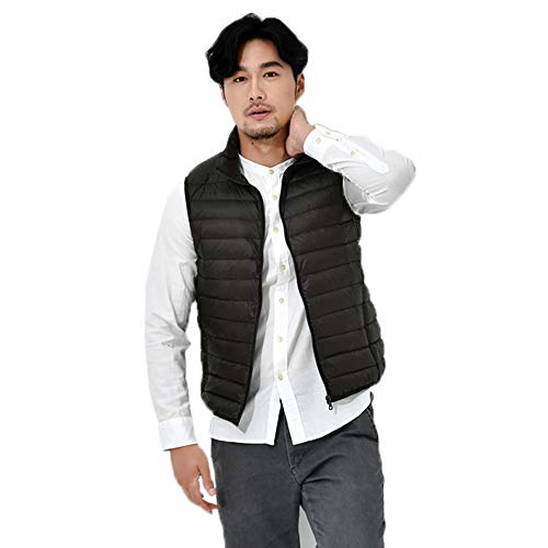 Green Coats Solid Autumn Army Mens Lightweight Vest Waistcoat Tianya Outwear Windproof Jacket Fashion Warm Winter Zipper Down Color Winter aAUEdxqIw