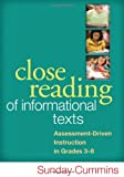 Close Reading of Informational Texts 1st Edition