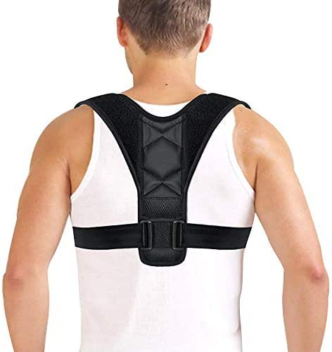 Back Straight Shoulders Brace Strap Corrector,Posture Clavicle Support Correct Belt Therapy for Men and Women,Give You Healthy Life and Shape Your Body