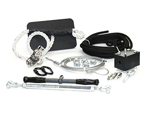 ZLP Manufacturing ZUTK000 Ultimate Torpedo Zip Line Kit w/ No Cable by ZLP Manufacturing