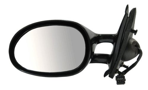 Power Heated Side View Door Mirror Black Assembly Driver Left -