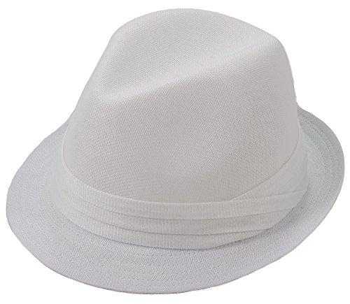 Milani Fedora Hat with Matching Band 316d0b837c1