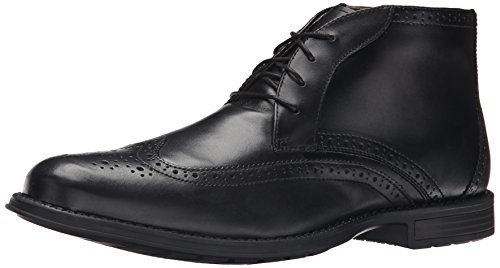 Nunn Bush Men's Rawson Chukka Boot - Black - 11.5 D(M) US