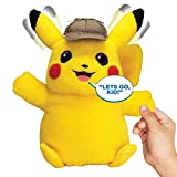 Pokémon Detective Pikachu Movie Interactive Talking Plush at Amazon