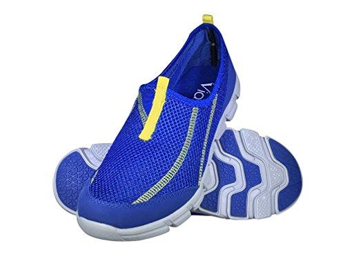 Pictures of Viakix Mens Water Shoes - Comfortable Lightweight Mesh Aqua Sneakers - Swim, Pool, Beach Shoes for Men 1