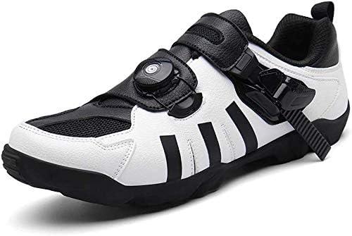 DFEDCLL Zapatillas de Ciclismo Camino Deporte Unisex de ...