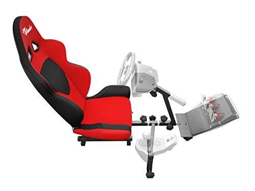 OpenWheeler GEN2 Racing Wheel Stand Cockpit Red On Black