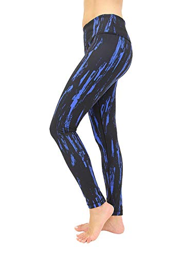 90 Degree By Reflex Performance Activewear - Printed Yoga Leggings