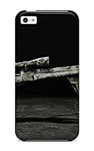 EDpCZyV2747hxPVr ThomasSFletcher Awesome Case Cover Compatible With Iphone 5c - Sniper Military Man Made Military