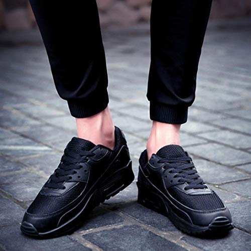 Shoes Shoes Student Shock Fitness Gym New Air Running Trainers Travel Casual Cushion Shoes Trainer Air Black LILICAT Absorbing Couple Sports Shoes Running Womens Jogging Bq4ZFZ