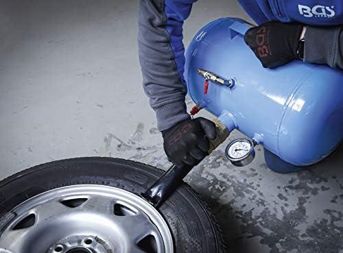 Bgs 8365 Befüllhilfe Für Pkw Reifen Booster Reifenfüller Airbooster Luftkanone Befüllhilfe 20 L Baumarkt