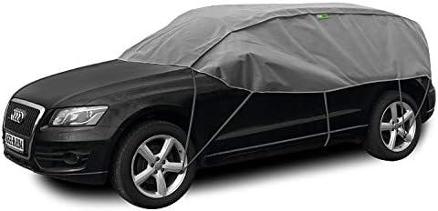 Abdeckplane Halbgarage Sonneschutz Schneeschutz UV Schutz Winter /& Sommer Gr/ö/ße SUV kompatibel mit BMW X5 E70