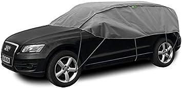 Abdeckplane Halbgarage Sonneschutz Schneeschutz Uv Schutz Winter Sommer Größe Suv Kompatibel Mit Skoda Yeti Auto