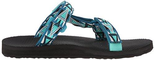 Teva Sandals - Teva Universal Slide Sandals - Blue Black