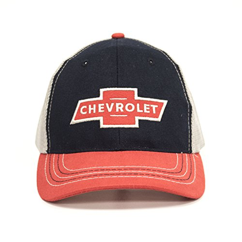 Chevy Red Logo Patch Hat - Cap Chevy Baseball