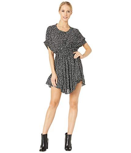 (Free People Women's One Fine Day Mini Dress, Black Combo, X-Small )