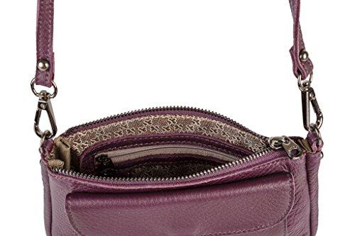 SALVADOR BACHILLER Borsa a Tracolla Patta - Shona 5762 - Purple