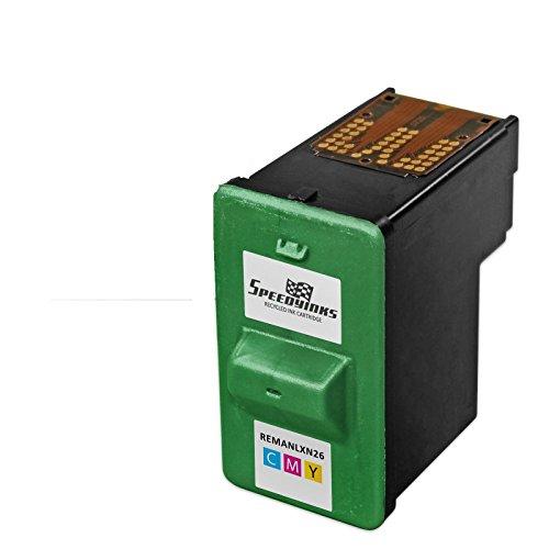 Speedy Inks - Lexmark Remanufactured 10N0026 #26 Color Ink Cartridge