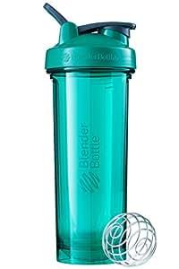 Blender Pro32 Shaker Bottle with Loop Handle, Emerald Green, 946 ml Capacity