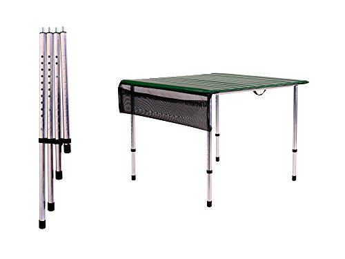 Beau Amazon.com : Camp Time, Roll A Table, Green, With Adjustable Legs : Sports  U0026 Outdoors