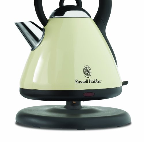 russell hobbs ke9000cr electric kettle cream buy online in uae kitchen products in the uae. Black Bedroom Furniture Sets. Home Design Ideas