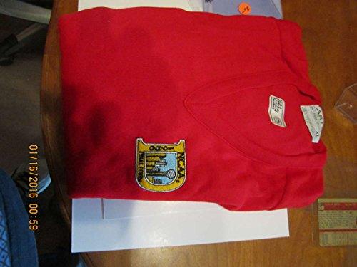 NCAA 1986 Final Four Red Sweater xl art Louisville vs ()