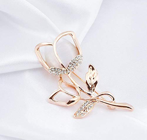 3550e2ae22b Daisy Jewelry Womens Elegant Rose Flower Floral Bridal Wedding Bouquet Brooches  Brooch Pin Daisy Jewelry brooches ...