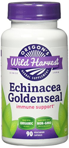 Cheap Oregon's Wild Harvest Echinacea Goldenseal Organic Capsules, 90 Count
