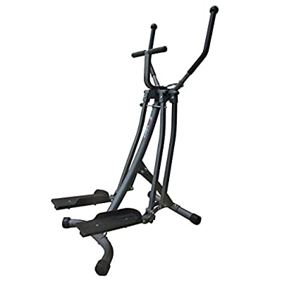 Air Walker Glider Elliptical Machine with Side Sway Action for Exercise and Fitness by EFITMENT - E020