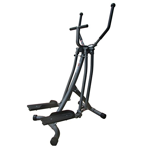 EFITMENT Air Walker Glider Elliptical Machine with Side Sway Action & 360 Motion for Exercise and Fitness - E020