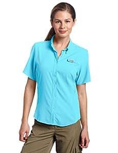 Columbia Women's Tamiami II Short Sleeve Shirt, X-Small, Atoll