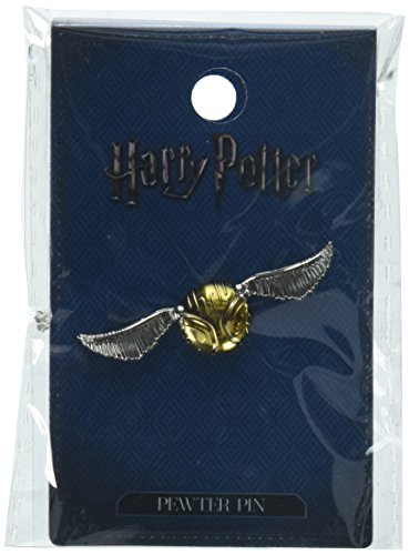 HARRY POTTER Snitch Pewter Lapel Pin Novelty Accessory (Pins Fine Pewter)