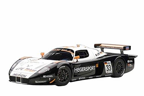 1/18 マセラッティ MC12 FIA GT1 2010 ヘーガースポーツ/A.ヘーガー&A.ミュラー #33(ホワイト×ブラック×オレンジ) 「シグネチャーシリーズ」 81036