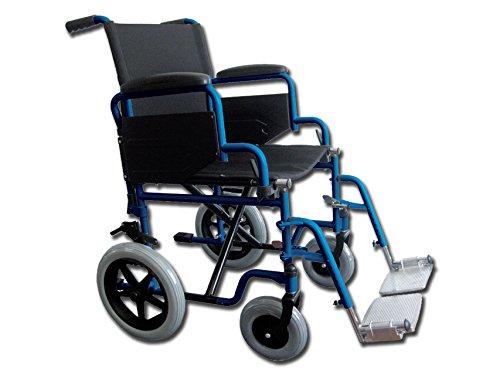 Carrozzina Essex, seduta 43 cm, sedia a rotelle per anziani GIMA 43260