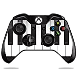 MightySkins Skin Compatible with Microsoft Xbox One or One S Controller - Piano Keys | Protective, Durable, and Unique Vinyl wrap Cover | Easy to Apply, Remove, and Change Styles | Made in The USA