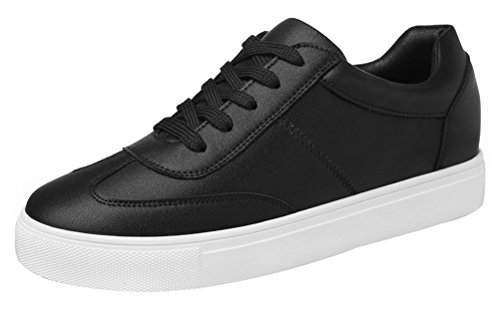 Sunburst Flame Top (T&Mates Womens Stylish Casual Round Toe Solid Color Low Top Lace-up Flat Fashion Sneakers (5.5)